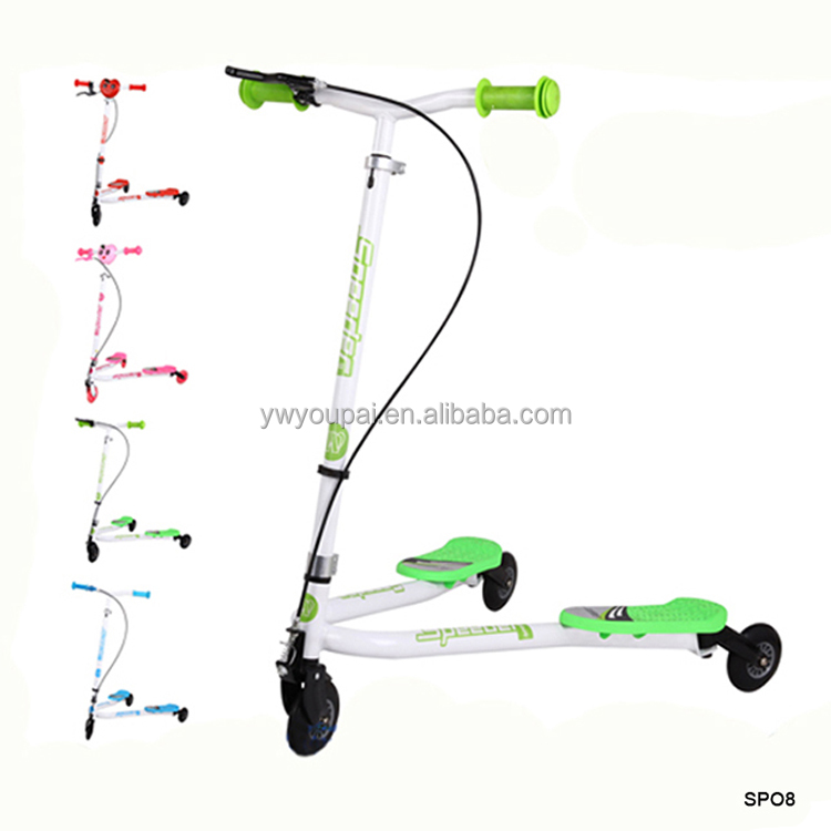 Youpai Scooter Foot Kick Mobility Scooter 3 Wheel Air Push Swing Scooter
