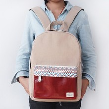 Cute Stylish Custom Canvas Backpack