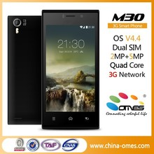 New Model M30 4.5 inch IPS Scree DUal Core Quad Core 5MP android 4.4 kitkat 3g cheap quad core alibaba in russian