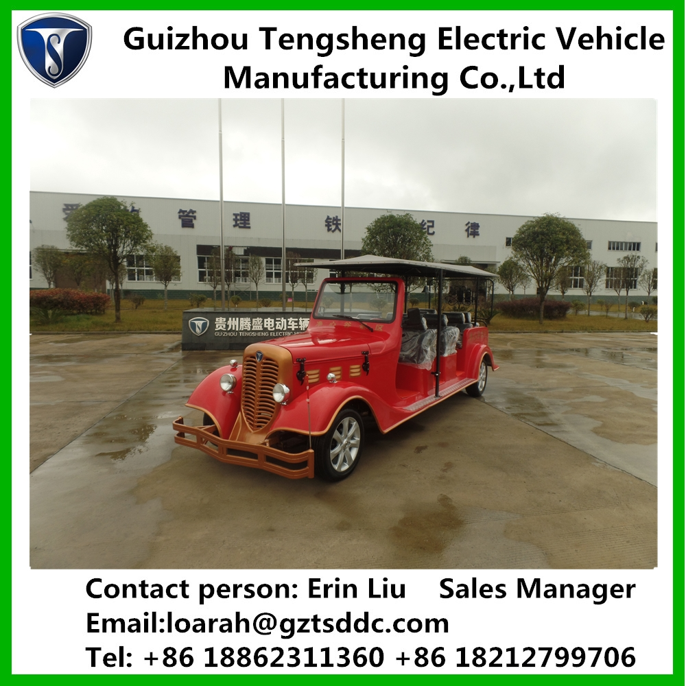 Eight-Eleven seats gas classical car