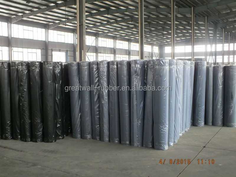 Great Wall Neoprene Rubber Sheet Fabric for Sale 3mm-50mm NBR rubber Sheet