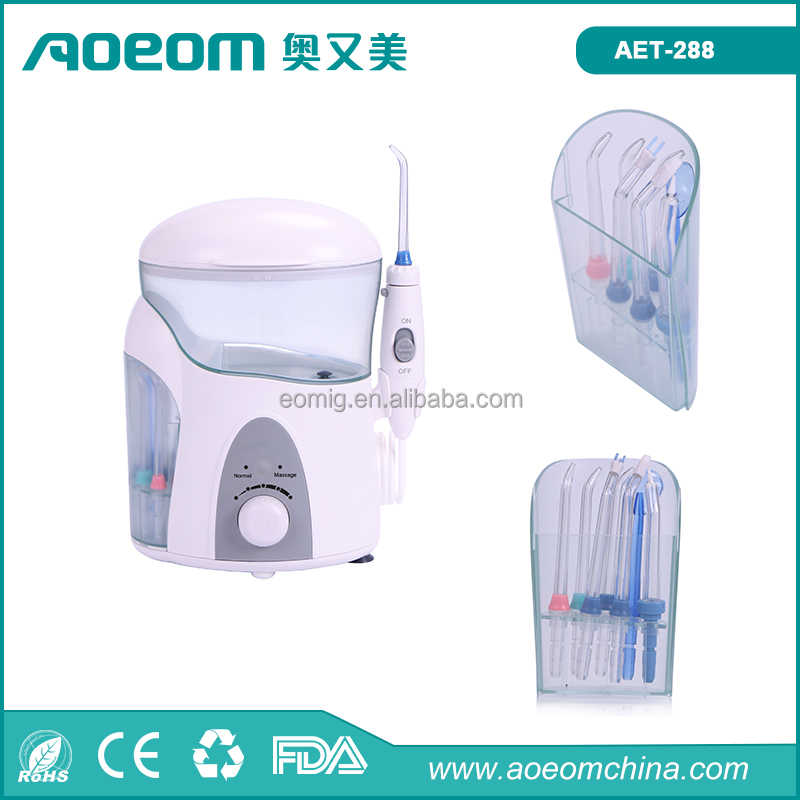 600 ml 7 tips pick dental care oral irrigator OEM acceptable