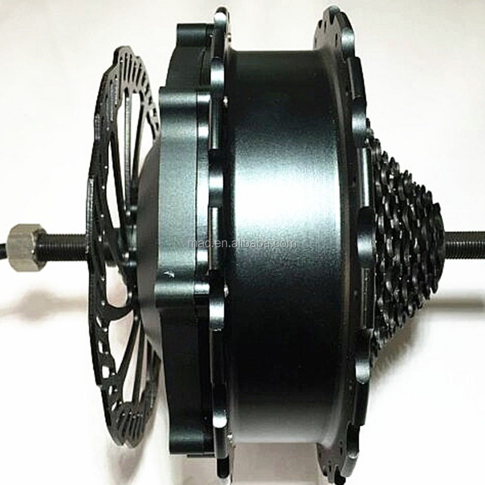 Mac hub motor new application ---electric wheelchair motor