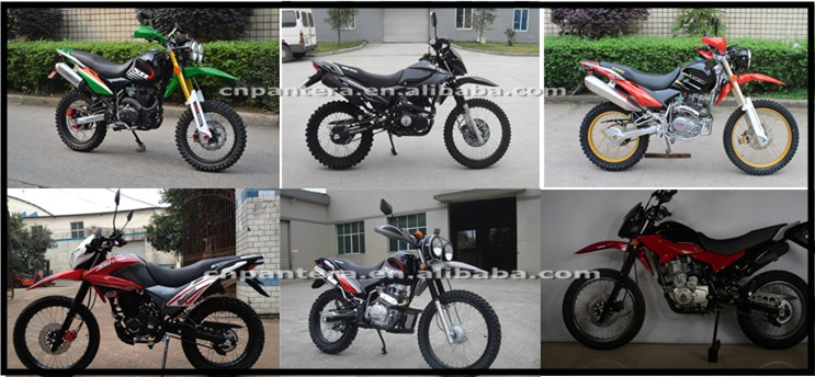 150cc to 250cc Dirt Bike Powerful Tube Motorcycle