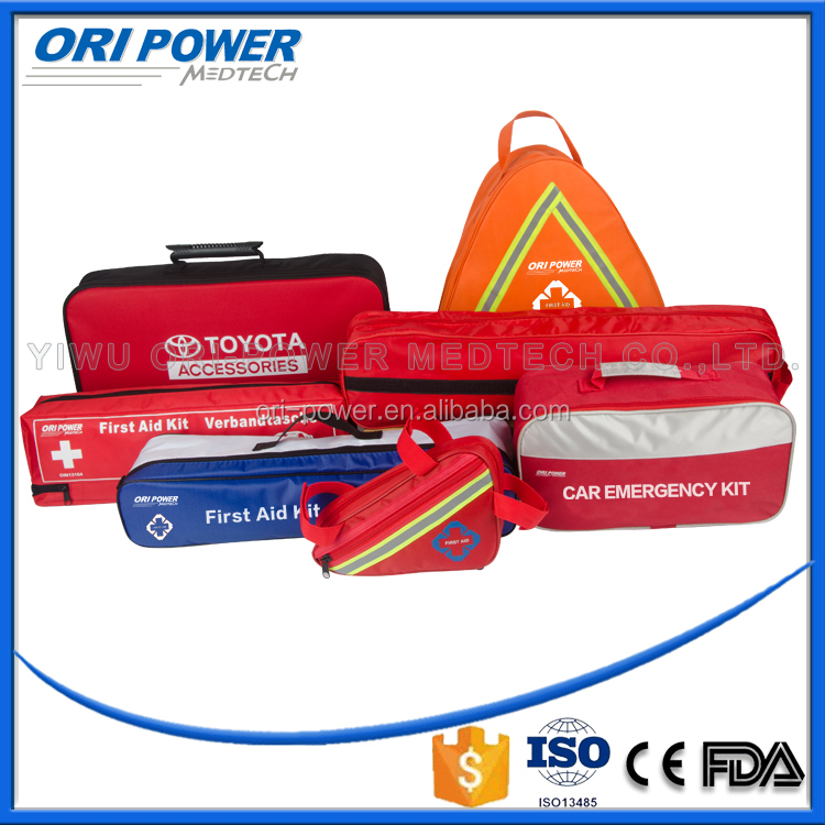 OP CE FDA ISO approved vehicle safety roadside first aid kit