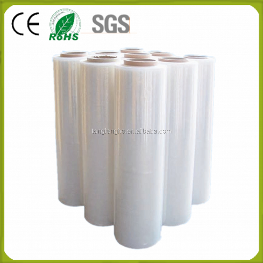 Pe,Lldpe Material And Water Soluble Hand Stretch Film Plastic Type