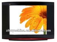 "OEM cheap ,popular 14 inch,15"",17"",19"",21"",25"",29"" normal flat ,pure flat CRT color TV television with DVD slot"