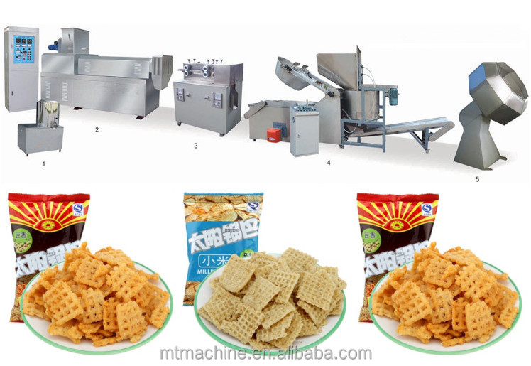 salty snack making machine Salty Crisp Rice Cracker Machine