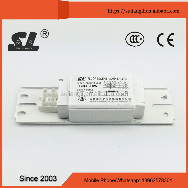 High quality magnetic ballast for uv fluorescent lamp for T8 / T10 / T12