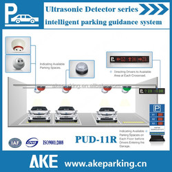 2017 Car Parking Guidance System with ultrasonic sensor and LED indicator