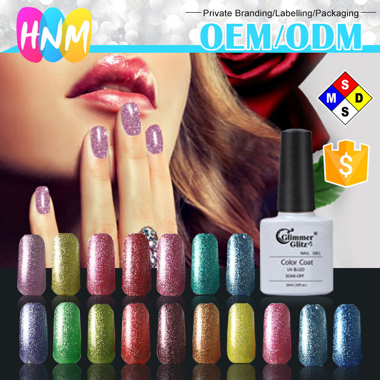 2016 wholesale nail supplies platinum uv gel metal color gel polish /platinum uv gel
