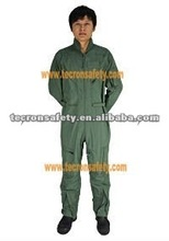 F5115 flying coverall, 4.5 oz Aramid flight suit, airline uniforms