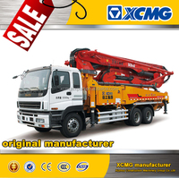 XCMG official manufacture HB37K used stationary concrete pump for sale