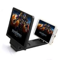 Mobile Phone Screen Magnifier Eyes Protection 3D Video Screen Amplifier Black