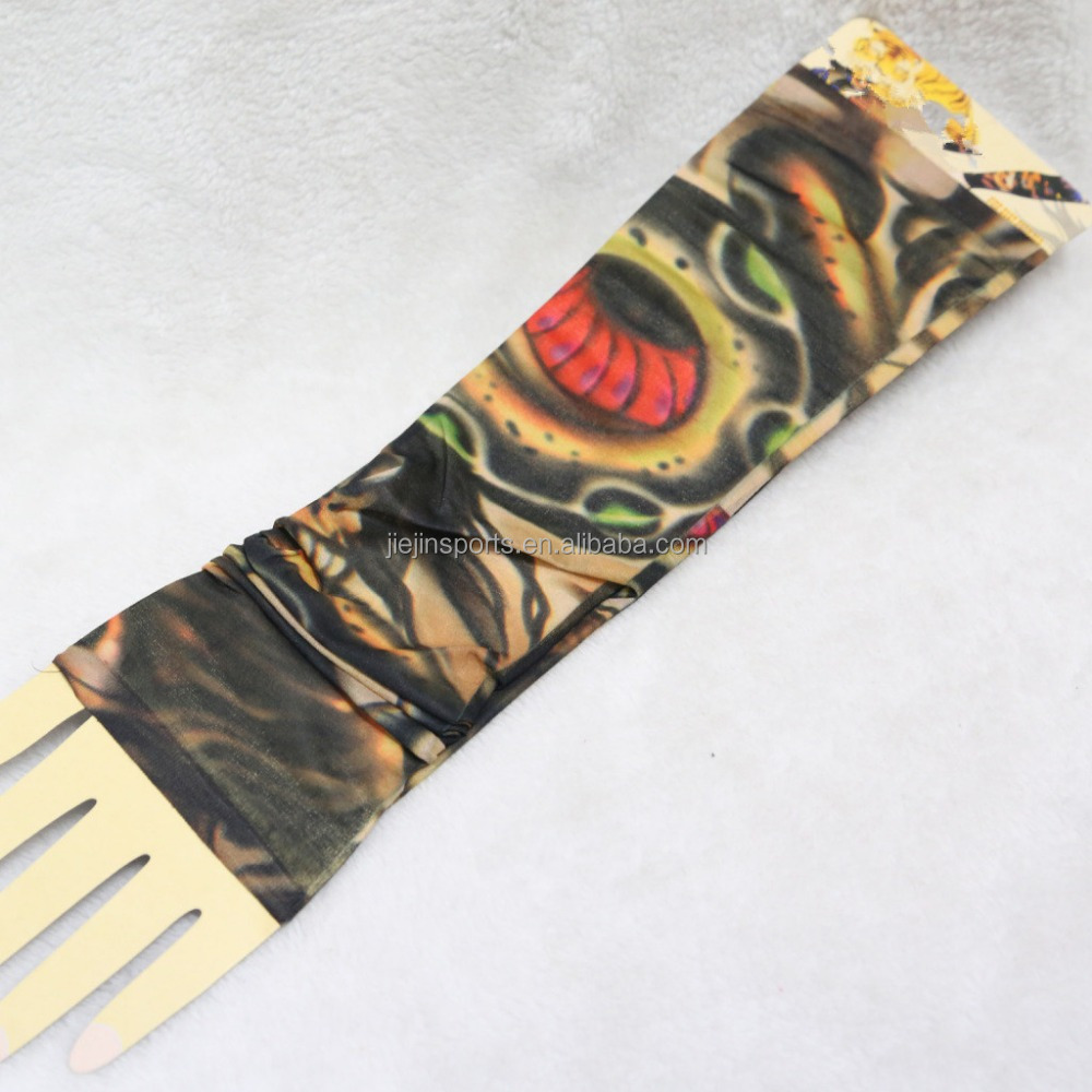 Good quality USA Badger women polyester spandex Digital Camo Arm Sleeves