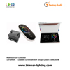 wireless RGB smart color changed controller full touch12v/24v led strip rgb led controller