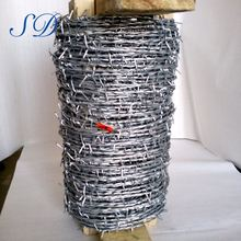 Hot Dip Galvanized Barbed Wire Weight Per Meter
