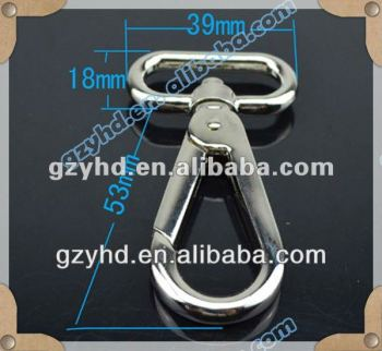 YHD fashion metal cheap snap hook in Luggage Bags &Cases