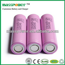 Original samsung lithium ion battery cell 18650 26650