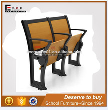 Multimedia school furniture desk chairs, metal frame for unversity desk seat