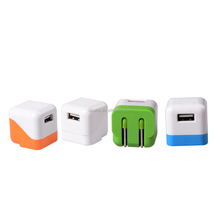 Folding US plug USB wall charger travel charger adapter for blackberry/iPhone 5V 1000mA,Lead-free