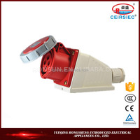 Electronic Industrial 16A IP67 electrical plug waterproof