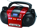 2016 New design protable boombox dvd/cd player