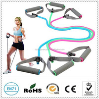 1 Shape soft expander set fitness elastic tube for training