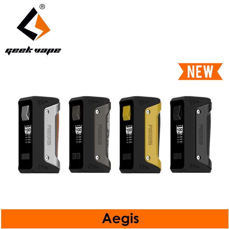Geekvape TC box mod Aegis IP67 waterproof & military grade shockproof