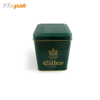 tinpak printed antique square bulk tea tins wholesale
