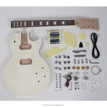 Customer high quality lp diy electric guitar kits