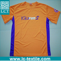 technical breathable dry fit cheap OEM tshirt men for running LCTN1722