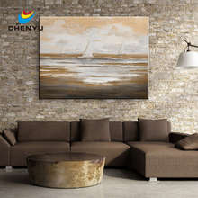 Warm Color Handmade Oil Painting Canvas Wall Art Home Accessory