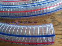 High Strength Pvc Spiral Steel Wire Reinforced Hose electric wire flexible hose