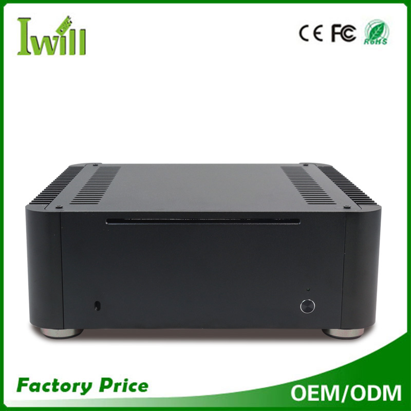 "Computer parts price MPC-T8 dual 2.5"" HDD mini itx case"