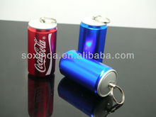 Promotional metal cola red wine bottle usb flash drive