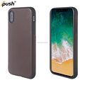 PU Leather case for iphone x soft back cover mobile phone case tpu for iphone x shockproof antifinger