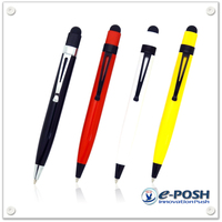 Mini metal stylus ball pen