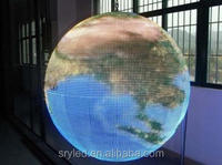 2014 new technology ball led display 360 degree led video display