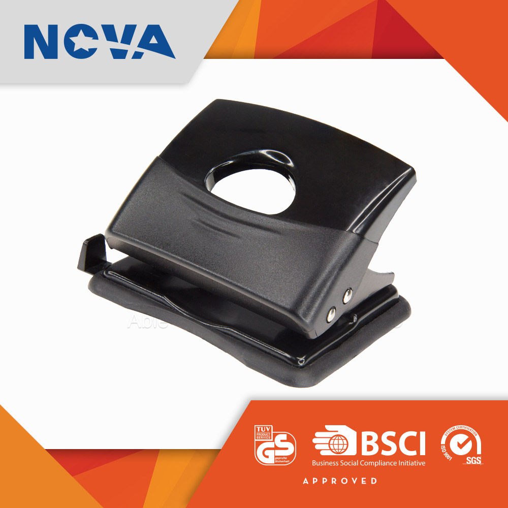 China factory price two round hole plastic punch for paper