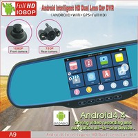 WiFi Android GPS Rearview DVR Recorder + GPS/GPRS/SMS Car Tracker