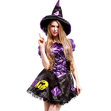 Sexy Witch Costume With Purple Witch Hat Halloween Costumes Sexy Witch