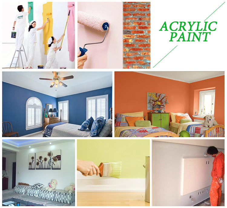 High durability decorating wall paint designs for bedrooms