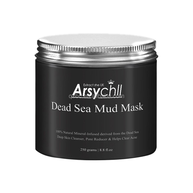 Private label mud mask dead sea skin care