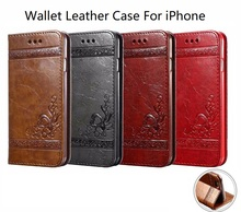 Flip Leather Wallet Case Credit Card Holder Cover For iPhone 4S 4G 5S 5G 5C 5SE 6 6S 7 8 X PLUS