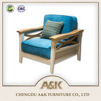 2016 Latest New Model Sofa Simple and Modern Wooden Sofa Furniture