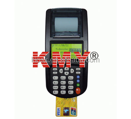 Wireless Credit Debit Card POS Payment Terminal built in 58mm Thermal Printer with phone function