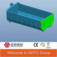 Promotional High quality detachable bin dumper 3*8*15 ft