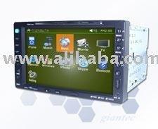 "VPC5500Best 2-Din Vehicle PC Solution with 7"" Touch screen TFT-LCD"