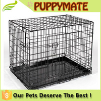 Muti Size Secure and Compact Single Door Dog Crate, Metal Dog Crate